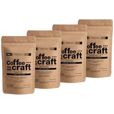 Дегустационный набор кофе без кислинки 4 сорта по 100\250 г