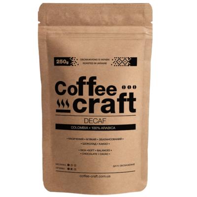 Кофе в зернах Колумбия без кофеина (Colombia Decaf)