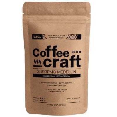 Кофе в зернах Колумбия Супремо Медельин (Colombia Supremo Medellin)
